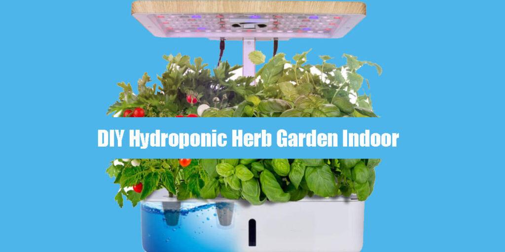 DIY-Hydroponic-Herb-Garden-Indoor
