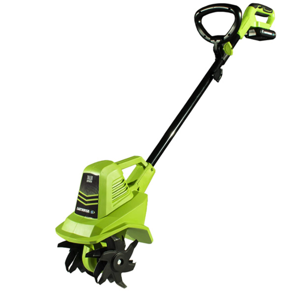 Earthwise TC70020 20-Volt 7.5-Inch Cordless Electric Tiller Cultivator