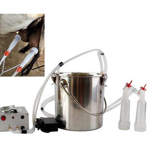 Futt-5L-Single-Bucket-Piston-Vacuum-pulsation-Milking-Machine