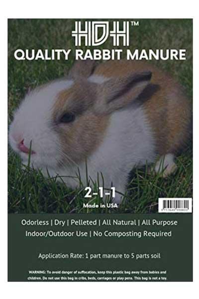 HDH Quality Rabbit Manure