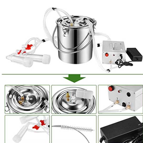 S-SMAUTOP-7L-Electric-Pulsation-Milking-Machine
