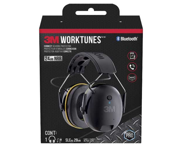 3M WorkTunes Connect Hearing Protector with Bluetooth Technology