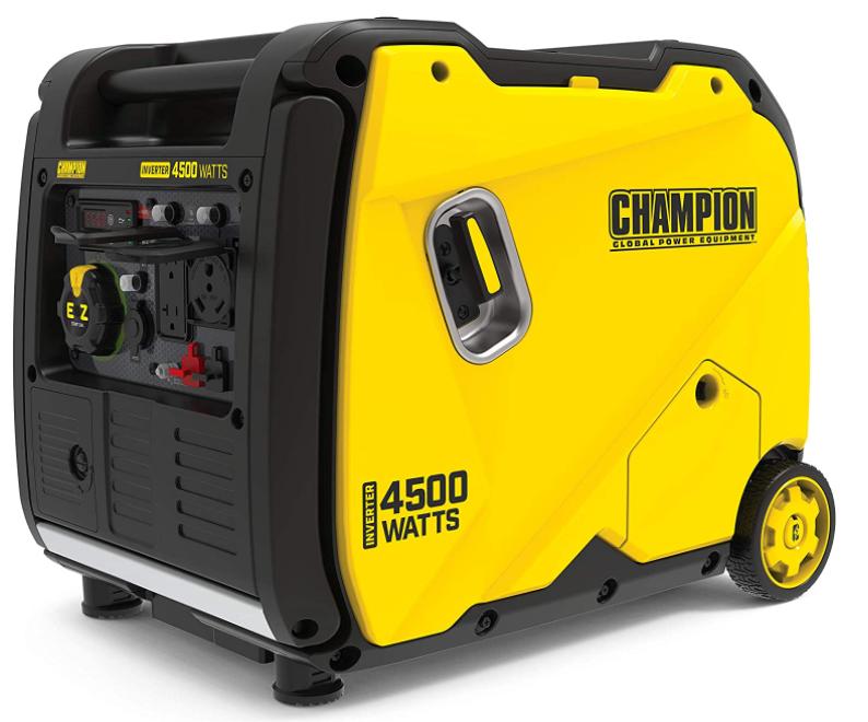 Champion Power Equipment 200986 4500-Watt Portable Inverter Generator