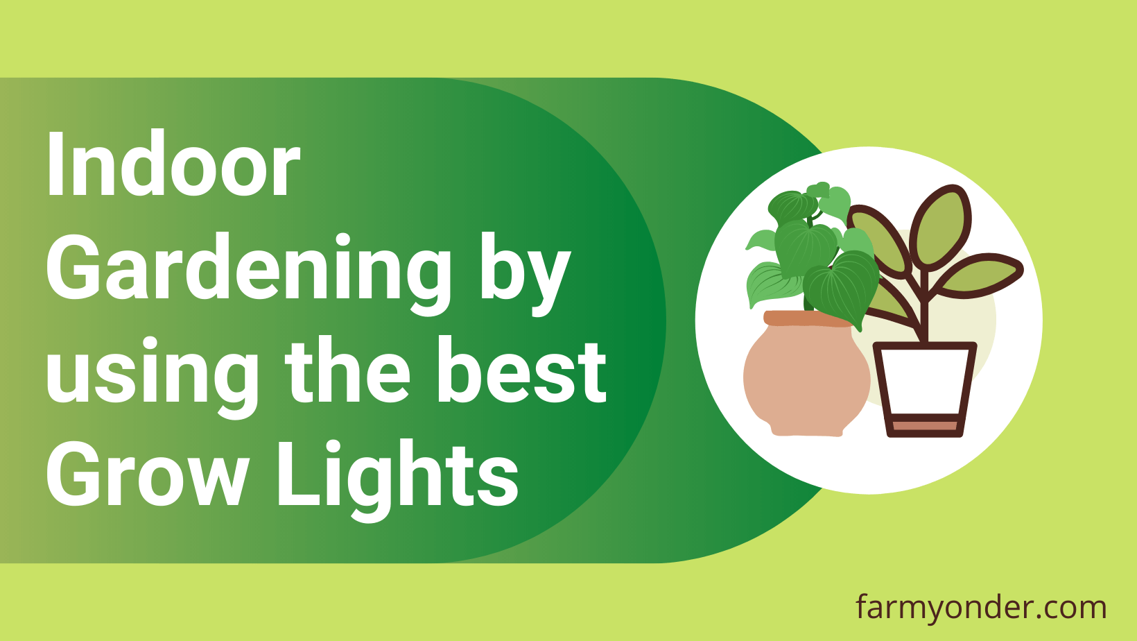 Read more about the article Get better results with Indoor Gardening by using the best Grow Lights